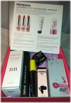 Memebox Superbox #73 F/W Natural Makeup Unboxing #memebox