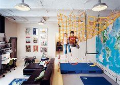 сюперинтенденке: идеи оформления детской зоны в однокомнатной квартире