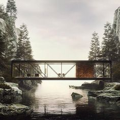 I love seeing modernist structures set amidst the ruggedness of nature. It makes me think of solitude and walks along the beach during stormy weather... Project by: Craig Elwood Image by: Nikita Shestakov #homedesign #lifestyle #style #designporn #interiors #decorating #interiordesign #interiordecor #architecture #landscapedesign