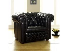 Ludlow Black Chesterfield Chair