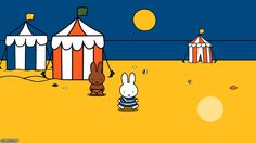 I always have a soft spot for brown Miffy. I take that Dick's is trying to tell us that we are all the same, no matter what our skin color is. Circus Pictures, Dutch Rabbit, Miffy, Japanese Poster, Cute Disney Wallpaper, Wallpaper Pictures, Art Pieces, Illustration Art, Doodles
