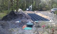 Installing Sewer Systems | Septic Tank and Drainfield