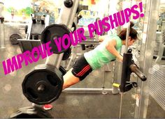 """Want to step up your pushups/stop doing """"girl"""" pushups? Here are 2 exercises to get you there! #pinoftheday #fitness"""