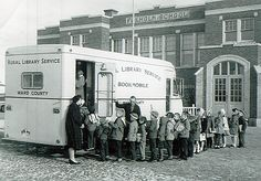 Ward County (N.D.) Public Library bookmobile, 1961.