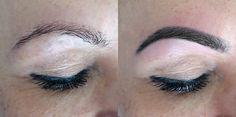 #beauty #eyebrows #beforeandafter #tint