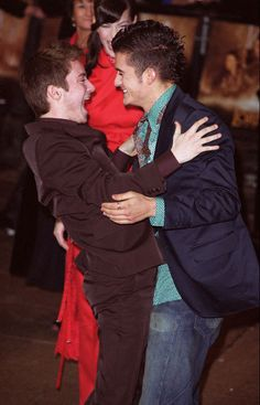 Elijah Wood and Orlando Bloom - It's good to know the actors became the same kind of friends their characters were.