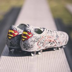 Superman Cleats