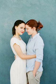 Dvě krásné nevěsty *** Two brides /// A Vote & A Vow | Same Sex Wedding Inspiration for the LGBT Community