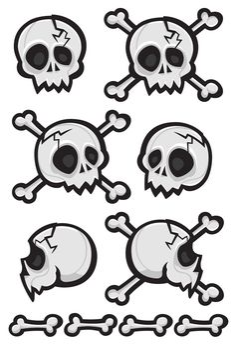 Cartoon Skulls - Norton Safe Search