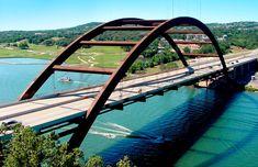 Austin - Pennybacker 360 Bridge by Artist Photographer Randy Smith