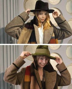 Lalla Ward then and now!