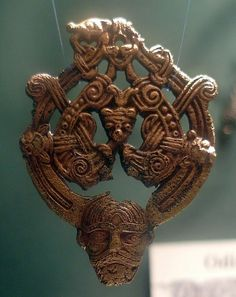 Viking age / Brooch, 9-10th/ Norway. Borre style brooch, 9-10thC. Historical Museum, Oslo