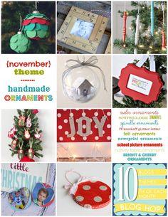 Handmade ornaments! KristenDuke.com