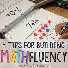Build math fluency in the Special Education Classroom with 4 easy tips you can start using today! Check out how I build these skills in my Autism Classroom!