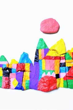 Turn rocks into a Paul Klee work of art! Easy Toddler Crafts, Toddler Activities, Easy Crafts, Crafts For Kids, Arts And Crafts, Paper Crafts, Paul Klee, Finger Painting, Nature Crafts