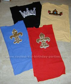 Tunics made from oversized tee shirts; cut off the sleeves  add an applique!