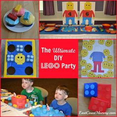 East Coast Mommy: The {Ultimate} DIY LEGO Party