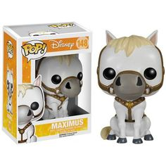 Funko Pop Disney Tangled Maximus 148 Vinyl Figure in Stock Disney Rapunzel, Disney Pop, Punk Disney, Princess Disney, Disney Princesses, Funk Pop, Figurine Pop Disney, Pop Figurine, Pop Vinyl Collection