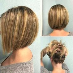 Unique Cut Bob Hairc