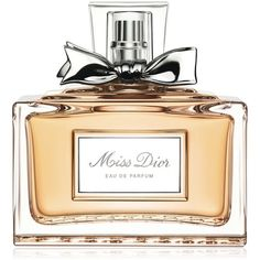 Miss Dior Eau de Parfum, 5 oz found on Polyvore featuring beauty products, fragrance, perfume, no color, eau de perfume, christian dior, edp perfume, christian dior fragrance and christian dior perfume