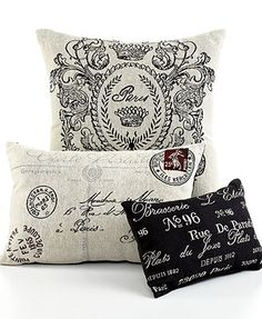 Park B Smith Bedding Vintage House Decorative Pillows Bed Bath Macy S Bridal And Wedding Registry