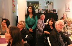 Das Charity-Dinner war gut besucht, die Erläuterungen von Dieter Lohmeyer und Bernd Roloff wurden aufmerksam verfolgt.