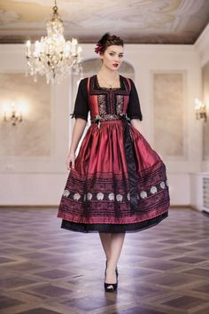 Dirndl, Nicoleta Melega Design Oktoberfest Fashion by http://www.Bembeltown.com…