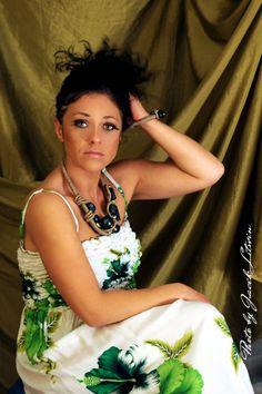 IRLANDZKI TREND -  Modelka: Marzena Łastowska Make up: Katarzyna Rostkowska Fot. Jacek Litwin