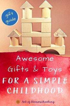 What makes an awesome gift for a simple childhood? I say either experience gifts (like museum memberships or creative activities), or toys that encourage open-ended play. This gift guide can help! Simple Gifts, Cool Gifts, Best Gifts, Unique Baby Clothes, Cooking Classes For Kids, Experience Gifts, Montessori Materials, Creative Activities, Child Love