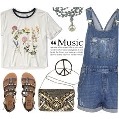 How To Wear Festival Inspiration Outfit Idea 2017 - Fashion Trends Ready To Wear For Plus Size, Curvy Women Over 20, 30, 40, 50