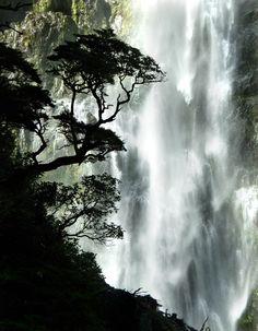 Devil's Punchbowl waterfall, New Zealand