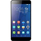 Huawei Honor 6 Plus Smartphone 4G LTE Dual Sim Drei 8.0MP Kamera 3GB Rom Incell 5,5 Zoll FHD - Versand aus Deutschland (32GB ROM, Schwarz)