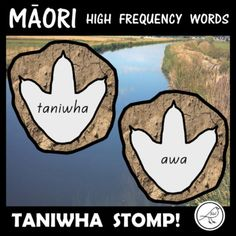 A fun resource for learning to read the first 350 high frequency Māori words. Included: ♦ 350 coloured footprints with mud background ♦ 350 black/white footprints ♦ Blank templates (coloured and black/white) ♦ Teacher notes Ideas for Spelling Words, Sight Words, School Resources, Classroom Resources, Maori Words, High Frequency Words, Teacher Notes, Classroom Environment, Footprints