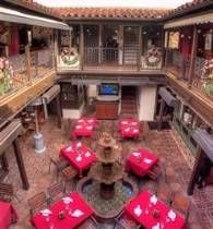 A commendable take on Antoine's in New Orleans with a plethora of varied dining rooms.   Nola - Palo Alto