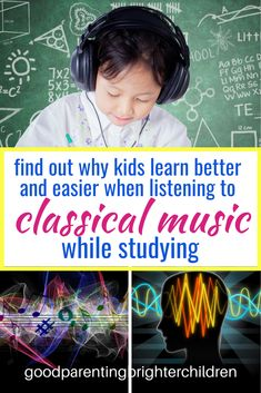 Classical music for studying produces an increase of learning. Music Activities For Kids, Music For Kids, Infant Activities, Learning Activities, Kids Learning, Music And The Brain, Music Courses, Music For Studying, Multiple Intelligences