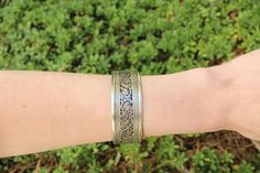 Filigree adjustable cuff $11.95 USD  #boho #gypsy #bohojewelry #hippiejewlery #gypsyjewelry