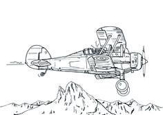Gloster Gladiator - David Voileaux copyright