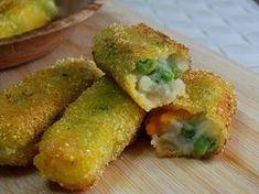 I bastoncini di verdure sono semplicissimi da fare in casa, non ditemi che voi li comprate ancora ! :D Venite a leggere la ricetta!