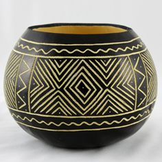 African Decorative Gourds made by impoverished women in Africa – $35