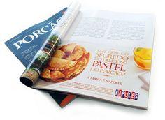 Massas Nápoles - Anúncio na Revista Porcão