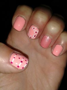 Flowers and Dots Sweet Lady, Nail Spa, Spring 2015, Nail Colors, Dots, Flowers, Stitches, Royal Icing Flowers, Flower