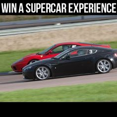 WIN a Supercar Thrill Experience at one of 5 Top UK Racing Circuits!