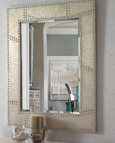 speil modell rustikk wwwmirameno speil smbord soverom - Miroir Mural Blanc Simili Cuir Strass