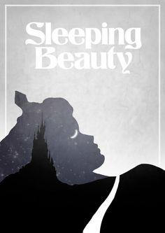 Alternative Disney Posters: Sleeping Beauty