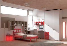 """#Arredamento #Cameretta Moretti Compact: Collezione 2012 """"Team"""" > Kids >> kc14 http://www.moretticompact.it/kids.htm"""