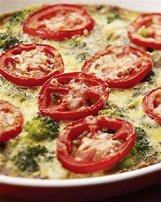 Broccoli and Potato Frittata recipe