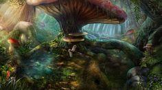 Huge mushroom by Montjart.deviantart.com on @DeviantArt