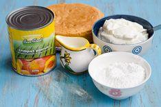 Tort cu piersici si iaurt - Din secretele bucătăriei chinezești Hummus, Ethnic Recipes, Desserts, Sweet Treats, Recipes, Homemade Hummus, Deserts, Dessert, Postres