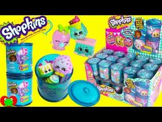 Shopkins Season 4 FULL CASE 30 Crates Baskets with 8 Ultra Rare Finds - YouTube