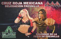 Lucha Libre y Box: Proximamente Triple AAA En Fresnillo Zacatecas